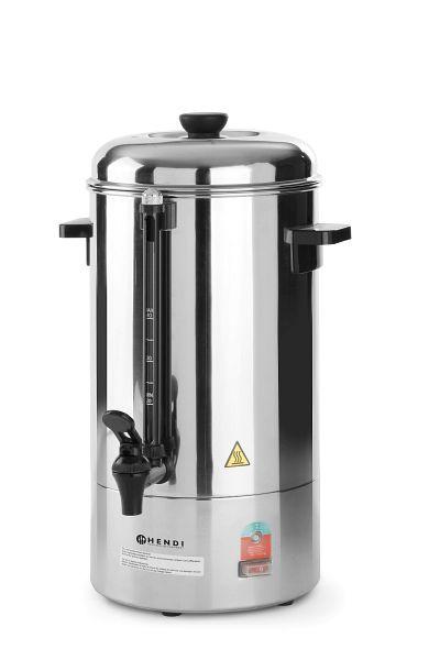 Kaffeemaschine, Rundfilter mit Auslasshahn für Kaffeekannen