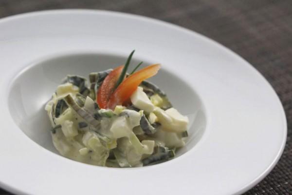 Porree-Ei-Salat