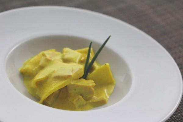 Apfel-Curry-Salat